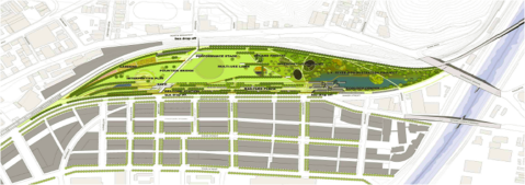Plan View of the New Park